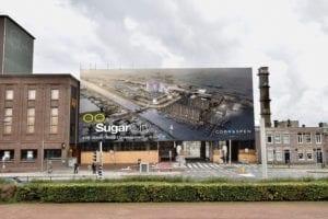 SugarCity Reclamedoek Poortgebouw